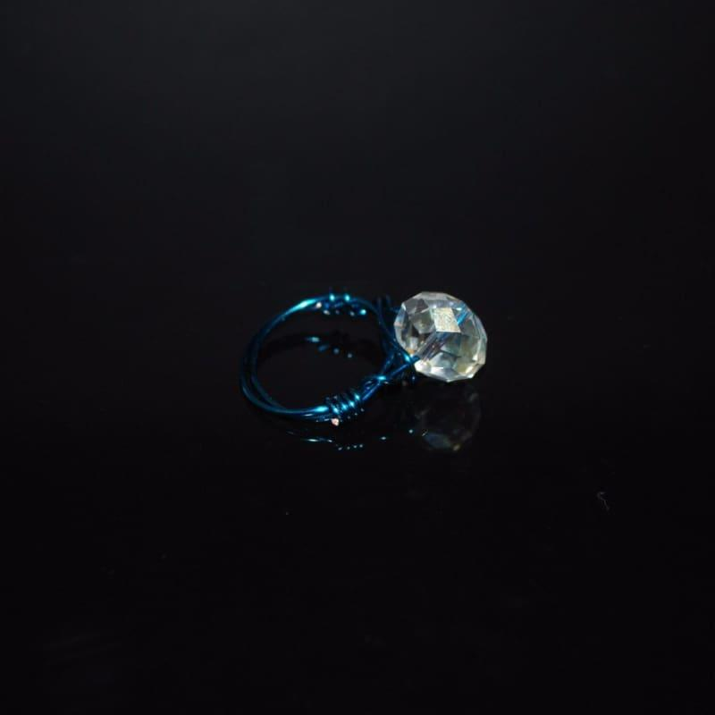 Crystal Handcrafted Womens Ring - Handmade
