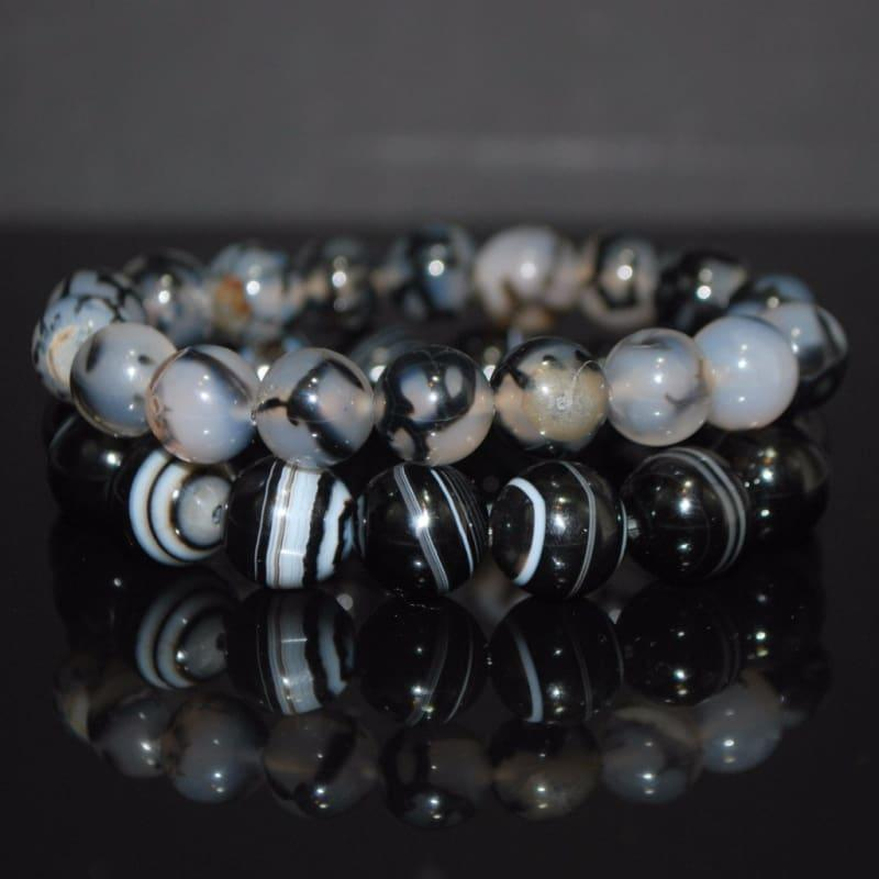 Dragon Eye Gemstone Mens and Womens Bracelets - Handmade