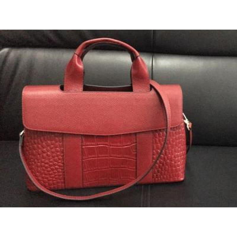 Genuine leather Luxury Handbag - TeresaCollections