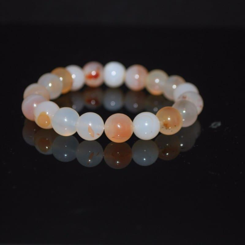 Genuine Natural Agate Gemstone Men's / Women Bracelets - TeresaCollections