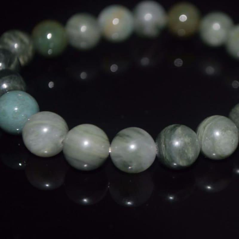 Green Agate Quartz Gemstone Bracelets - TeresaCollections
