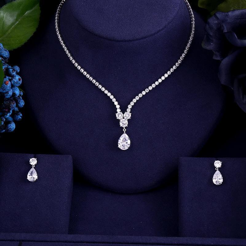 High Quality AAA Zircon WaterJewelry Set - Jewelry set