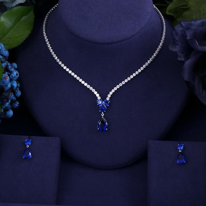 High Quality AAA Zircon WaterJewelry Set - TeresaCollections