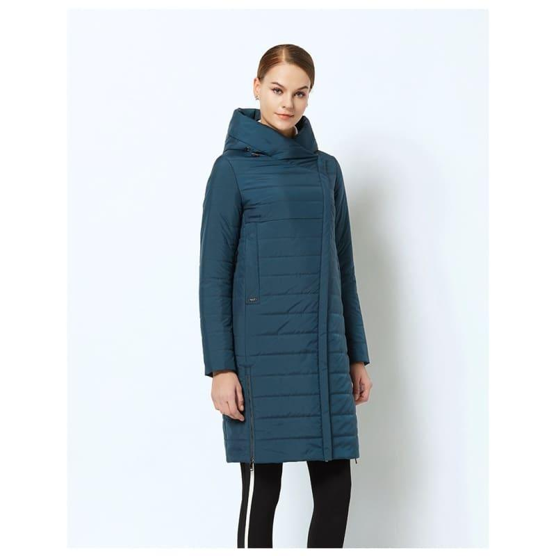 High-quality Thin Cotton Padded Womens Warm Parka Coat - Coats