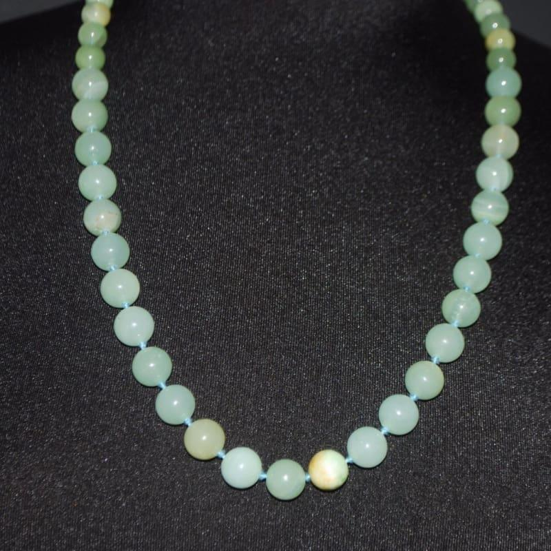 Jungle Green Genuine Jade Stone Necklace - TeresaCollections