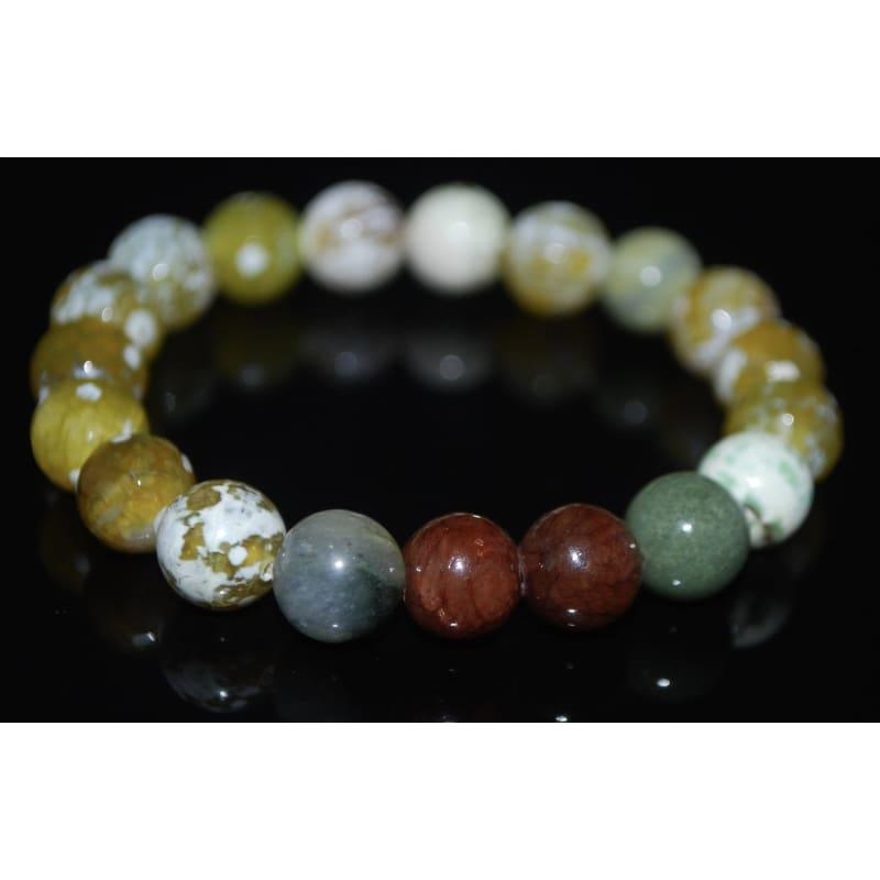Mixed Yellow Gemstone Bracelets - Handmade