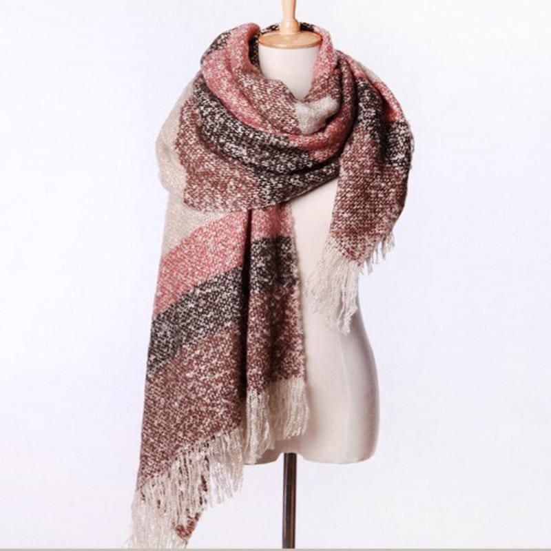 Mohair Warm Fashion Scarf - Scarf