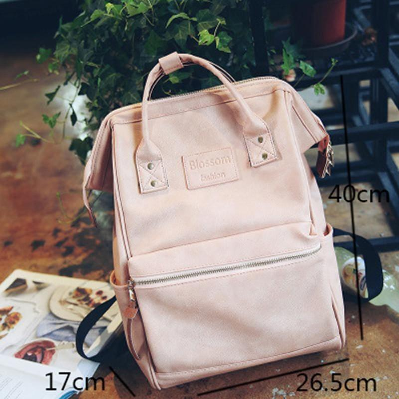 Multifunction Youth Shoulder Laptop schoolbag - pink - backpacks