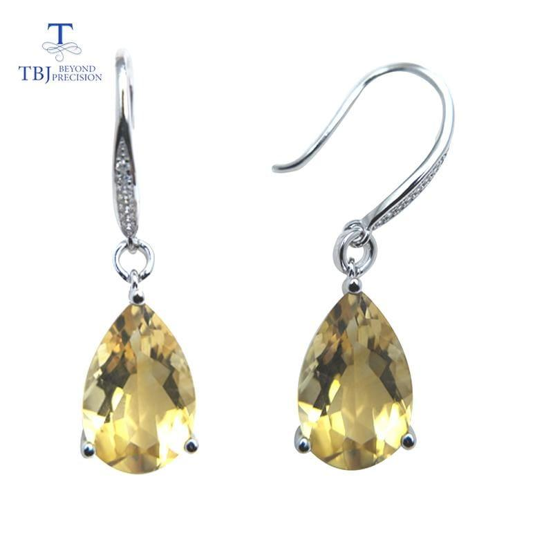 New 2019 Design 925 Silver Sterling Gemstone Earrings - earrings