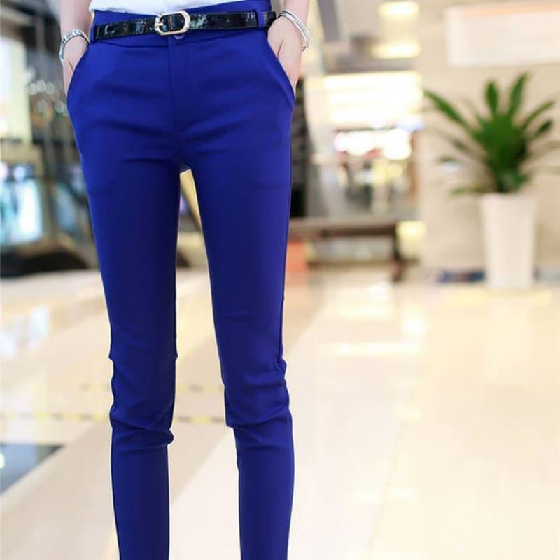 Office Fashion Pencil Trousers Pants - pants