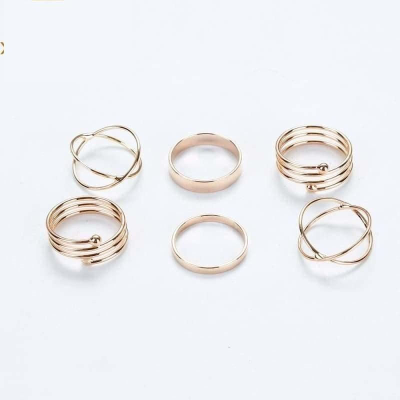Stackable Ensemble Ring Sets - ring