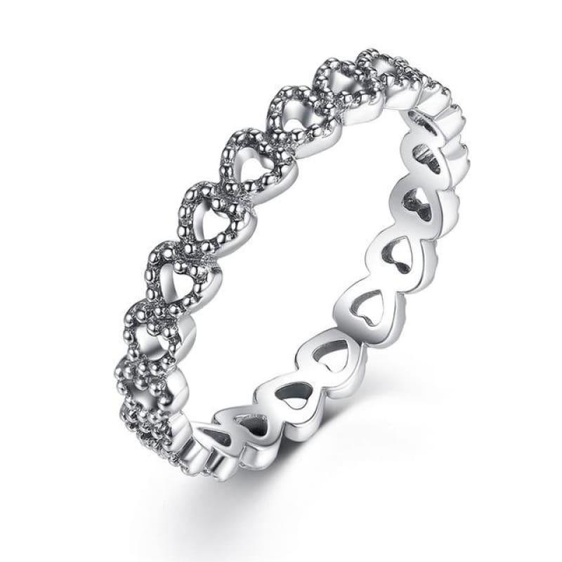 Sterling Silver Stackable Ring - 6 / FB7218 - Ring