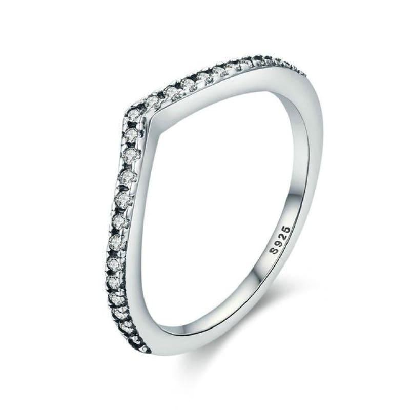Sterling Silver Stackable Ring - 6 / FB7649 - Ring