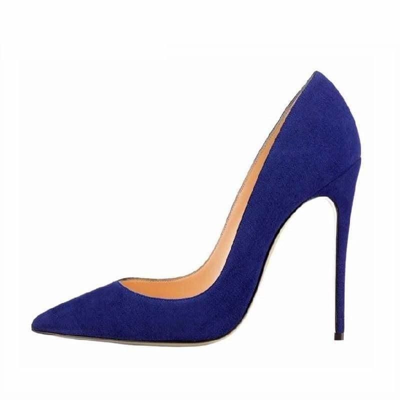 Suede Leather Footwear Women Pumps - Pumps