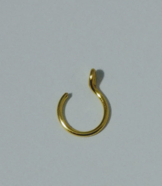 Fake Nose Ring Set of Two