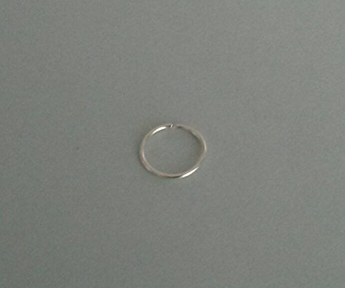 Septum ring, Septum hoop, Nose Ring, Sterling Silver