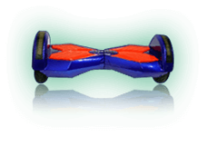 Red/Blue Hoverboard Scooter