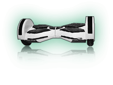 Black/White Hoverboard Scooter