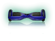 Electric Blue Hoverboard Scooter