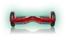 Candy Red Hoverboard Scooter