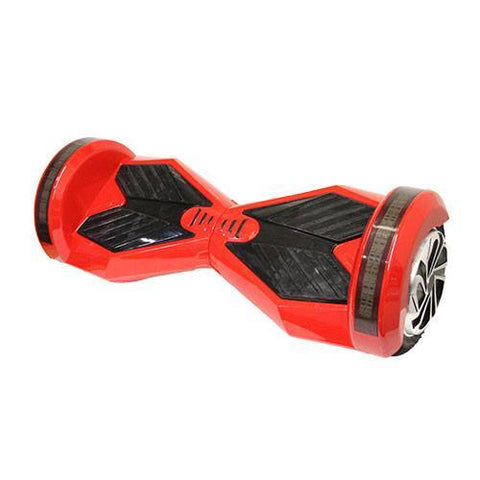 Black/Red - 2 Wheel Electric Balance Scooter With Bluetooth Speakers - Adult