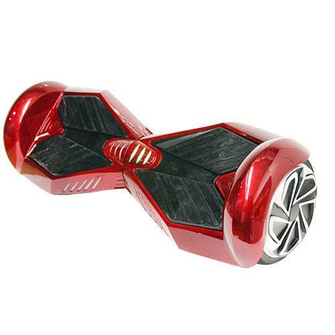 "Candy Red - 2 Wheel Electric Balance Hoverboard Scooter 7"" Lamborghini - Young Adult"