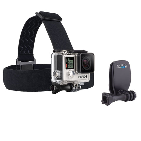 GoPro Headstrap Mount + Quick Clip