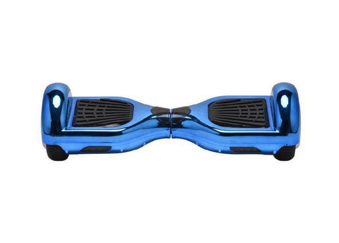 Chrome Blue - 2 Wheel Electric Balance Scooter - Young Adult