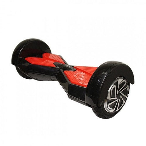 Red/Black - 2 Wheel Electric Balance Scooter With Bluetooth Speakers - Adult