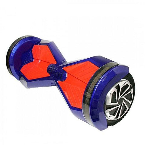 Red/Blue - 2 Wheel Electric Balance Scooter With Bluetooth Speakers - Adult