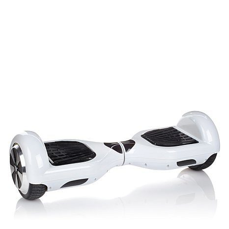 White - 2 Wheel Electric Balance Scooter - Young Adults