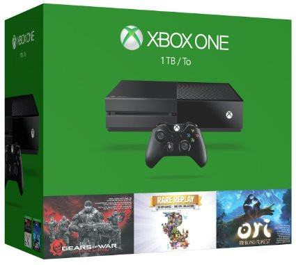 XBOX One 1TB System - 3 Games Holiday Bundle: Gears Of War: UE + Rare Replay + Ori And The Blind Forest
