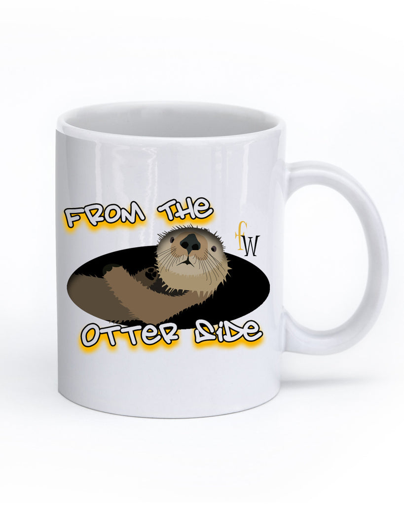 Hello from the Otter Side Mug