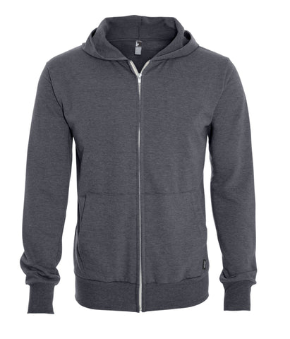 Men's Hooded Full Zip Sweater - Made in Canada