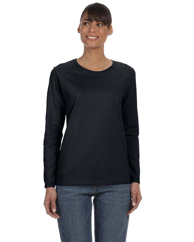 Gildan Heavy Cotton™ Ladies' Missy Fit Long-Sleeve T-Shirt