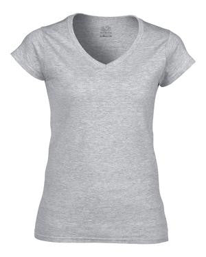 FRUIT OF THE LOOM® HD COTTON™ V-NECK LADIES' T-SHIRT