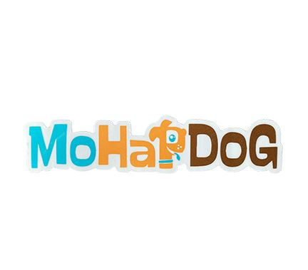 MoHapDog Vinyl Sticker - Dog poop bags