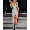 Women'S Split Sequin Dress