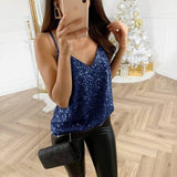 Sling V-Neck Casual Vest Top