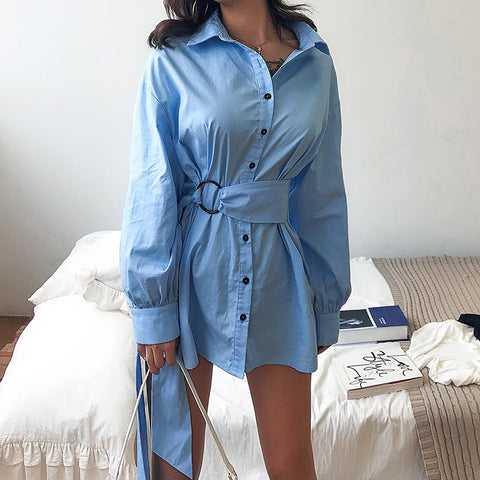 Fashion Sexy V-Neck Sequined Long Sleeve Dress