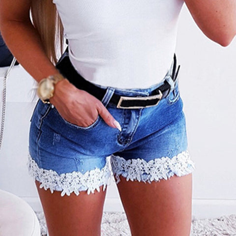 Sexy Slim Denim Shorts