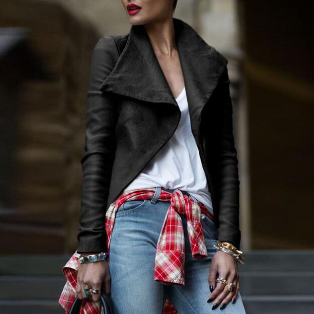 Casual Slim long-sleeved jacket