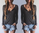 FASHION V-NECK SHIRT