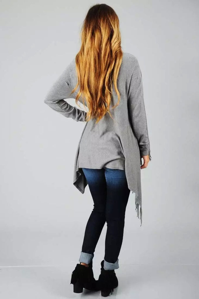 Sweet and long-sleeved jacket