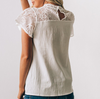Sweet Lace Short Sleeve T-Shirt