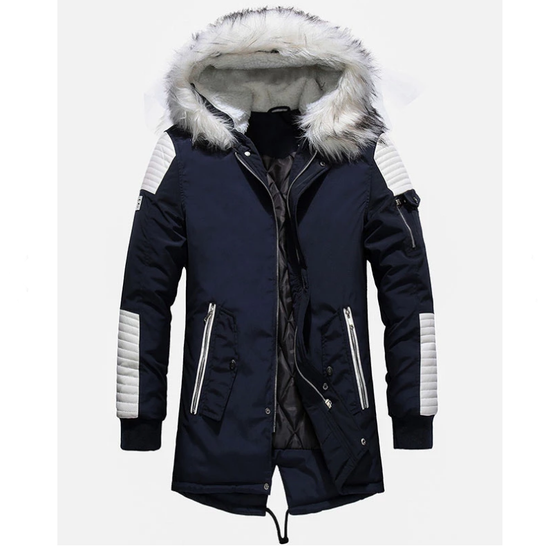 Zipper Long Sleeve Cardigan Hooded Jacket