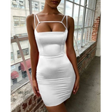 Design Women Fashion Sling Sexy Bodycon Dress