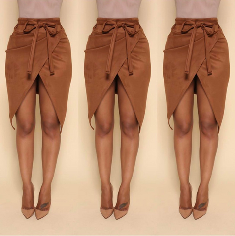 Slim package hip skirts
