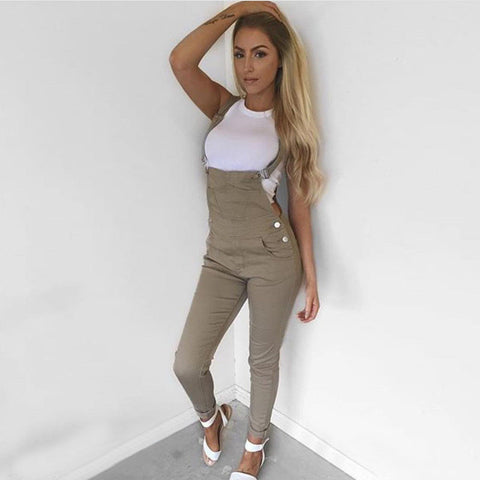 Design Fashion denim jumpsuits