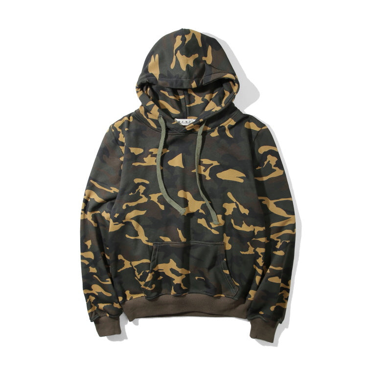 Hoodies Winter Casual Hats Sports Pullover Embroidery Camouflage Jacket